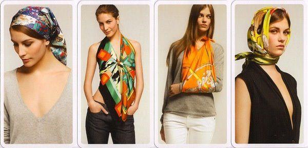 c561416ec439 comment nouer un foulard hermes - Google Search   Autour du cou ...