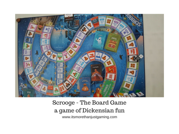 Scrooge The Board Game Coming to Kickstarter September