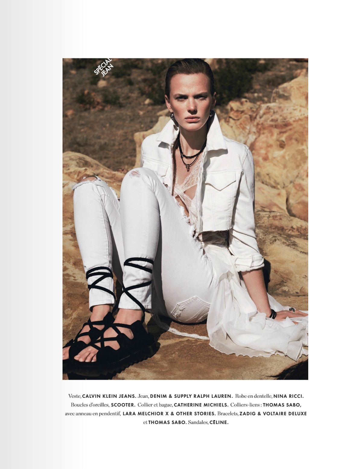 #AnneVyalitsyna by #JanWelters for #ElleFrance March 2014