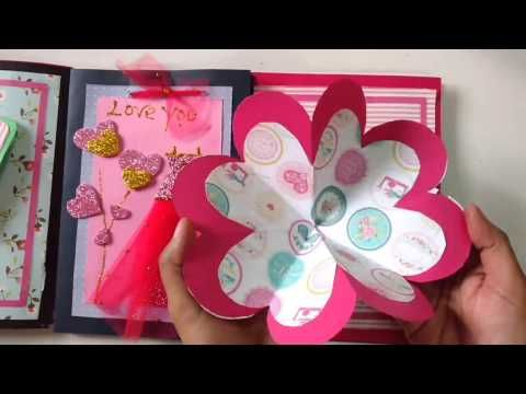 How to make easy scrapbook for birthday