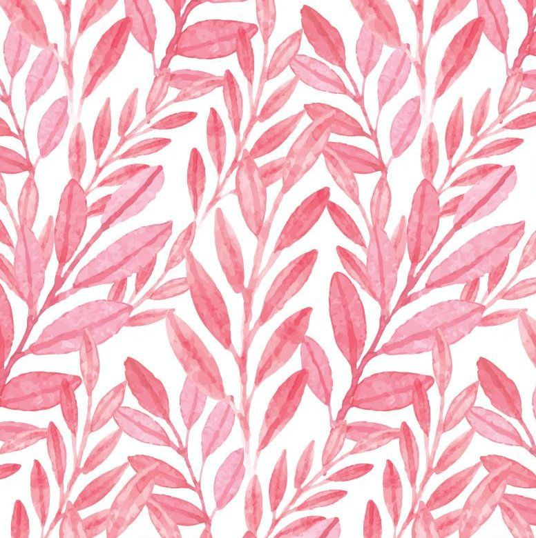 Reef Watercolor 24 L X 25 W Peel And Stick Wallpaper Roll In 2021 Watercolor Wallpaper Pink Wallpaper Backgrounds Watercolor Leaves