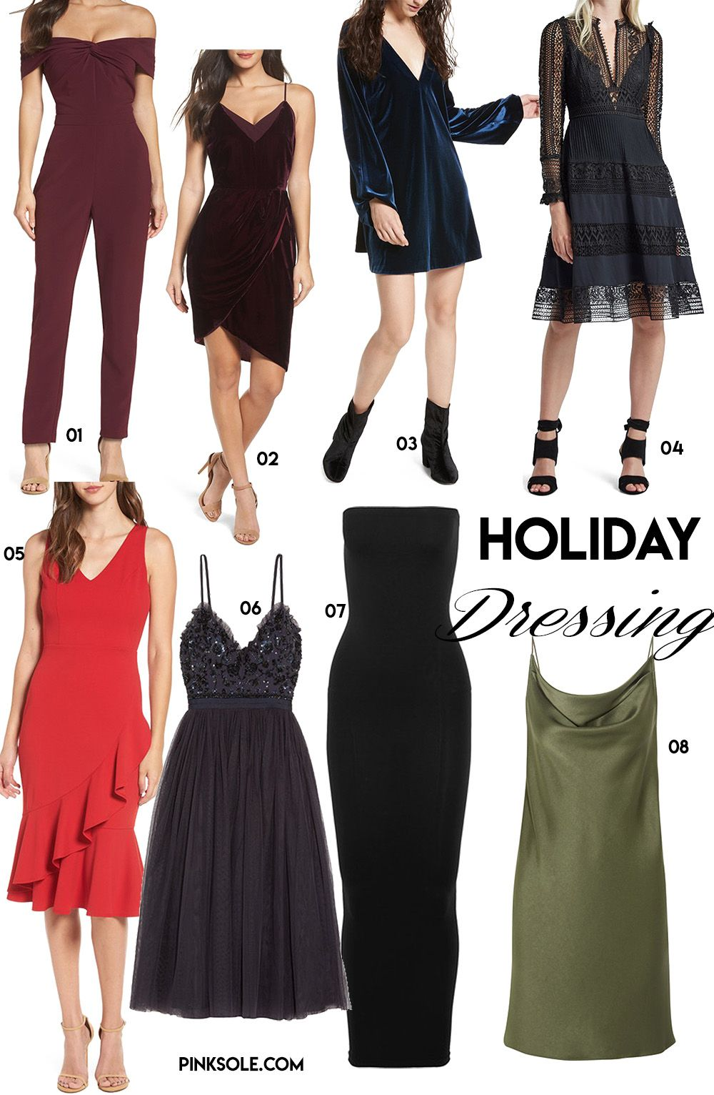 Lovely Cocktail Party Outfit Ideas Part - 7: Holiday Party Dresses Christmas New Yearu0027s Eve Outfit Ideas