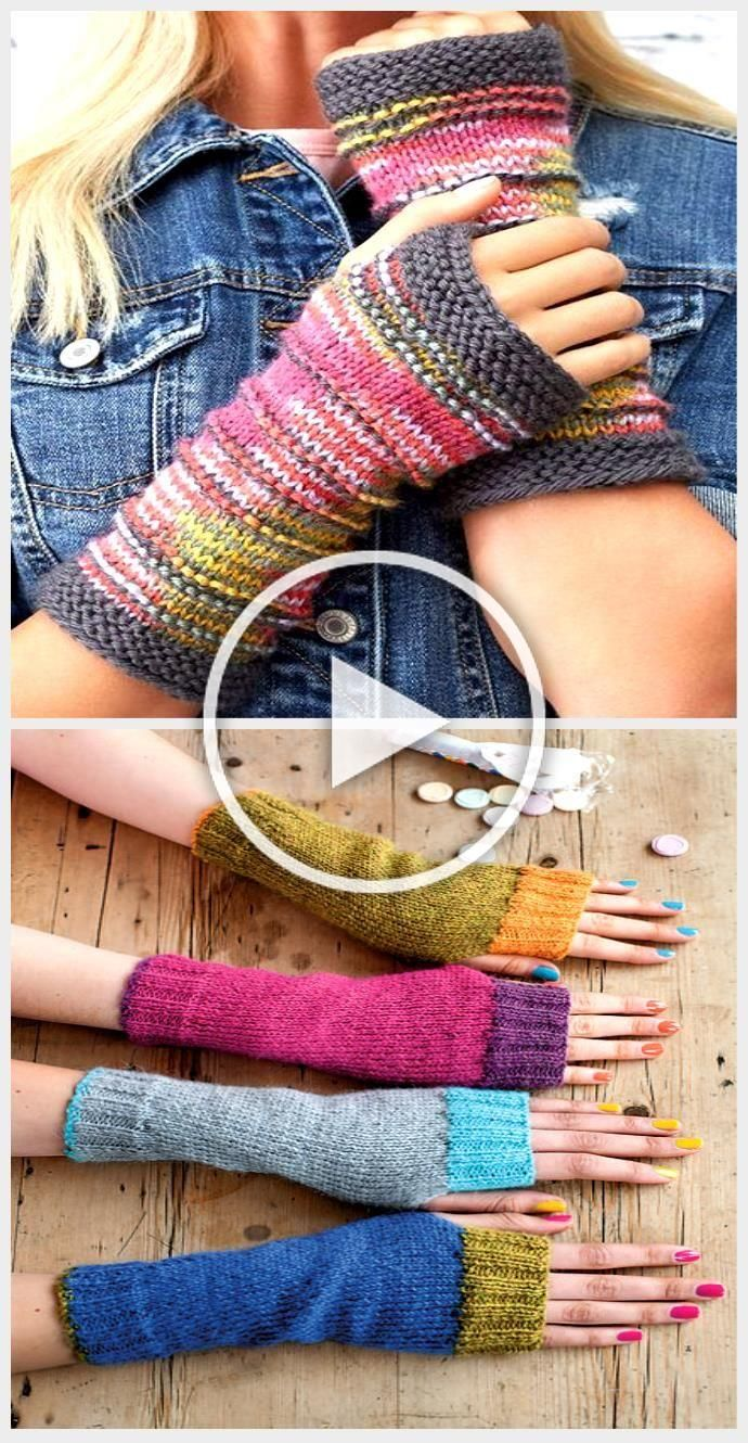 Free Knitting Pattern for Ridge Mitts  These fingerless mitts are designed to s
