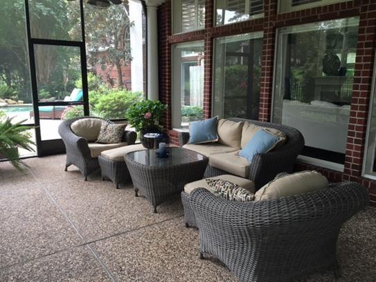 Martha Stewart Living Lake Adela Weathered Gray 6-Piece ... on Martha Stewart 6 Piece Patio Set id=11892