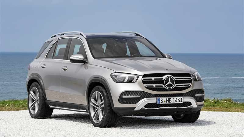 Mercedes Gle 580 Suv May Be Coming With V8 From The Gls With