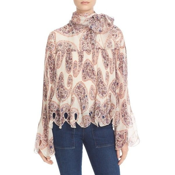 9f3a2b6c Women's See By Chloe Floral Embellished Georgette Blouse (1,035 BAM ...