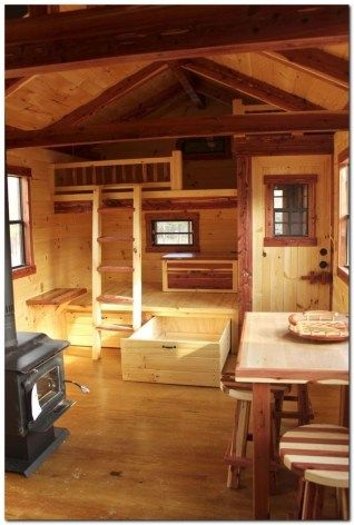 100 Tiny House Interior Ideas Small Cabin Tiny House Interior