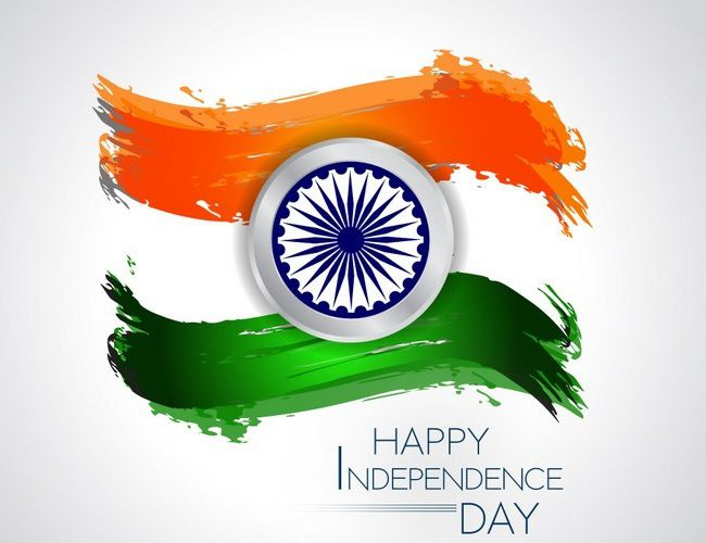 Creative Indian Flag image for Whatsapp DP on Independence