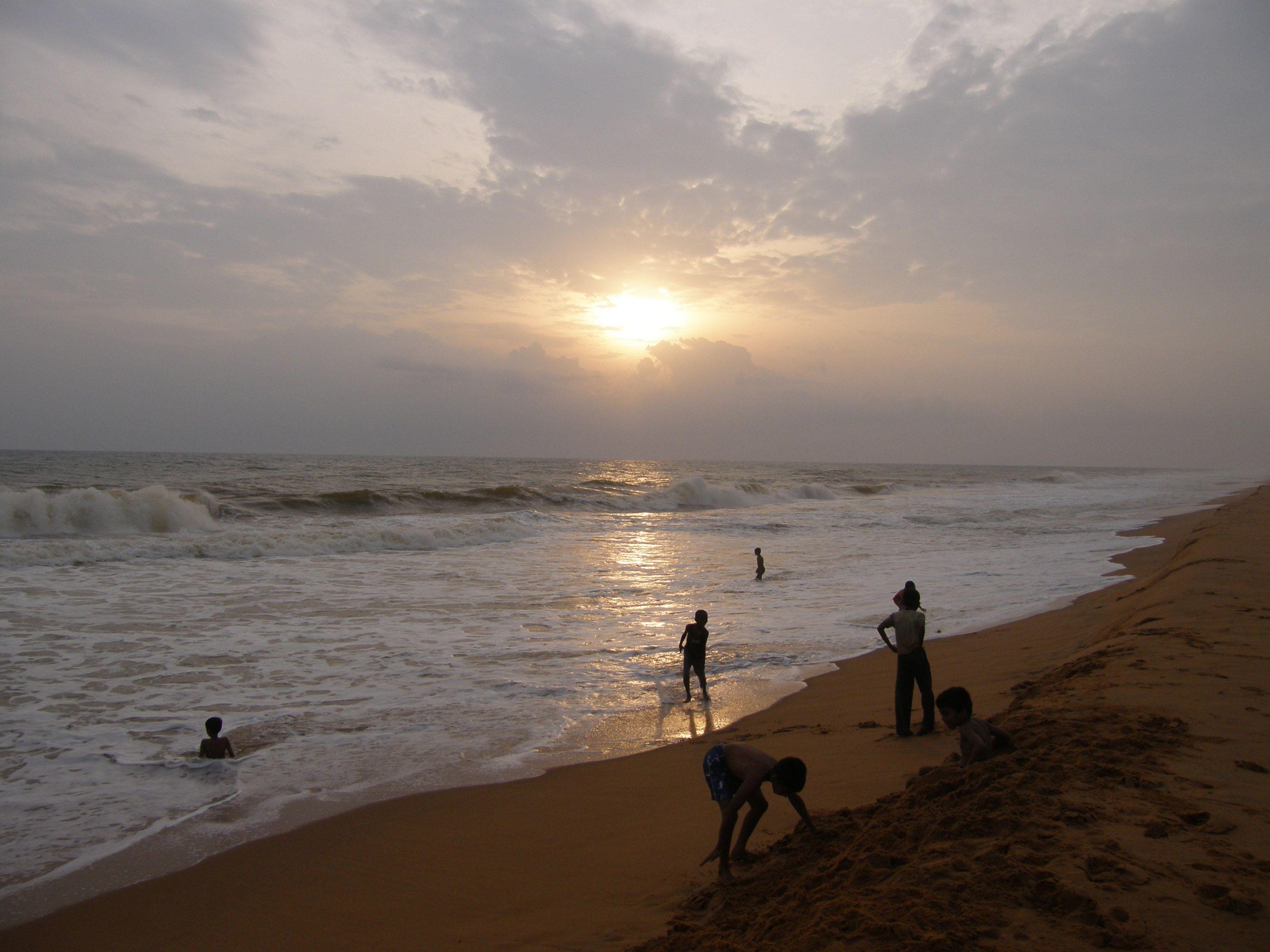 Puthenthope Beach, Trivandrum, Kerala