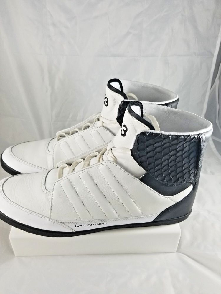 ab03c07de913 Adidas Y-3 Yohji Yamamoto Honja Hi white black sz 10 Very RARE Limited  Premium V  fashion  clothing  shoes  accessories  mensshoes  casualshoes  (ebay link)
