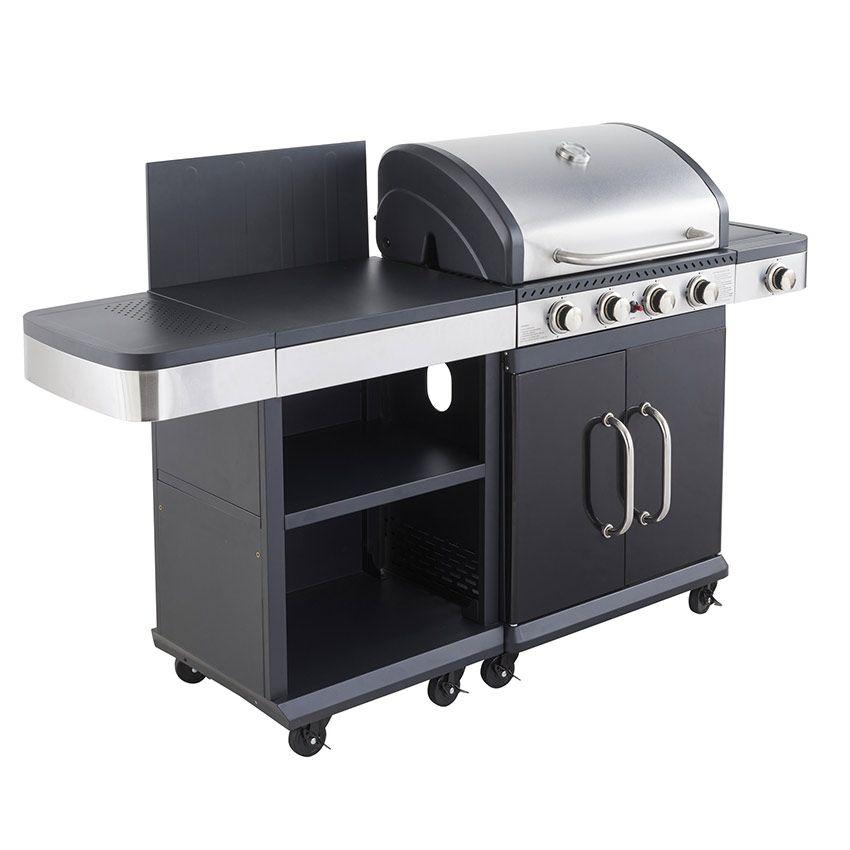 Barbecue gaz Steel Caddie 4