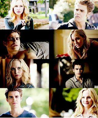 Caroline and Stefan!!!! I ship it!!!!