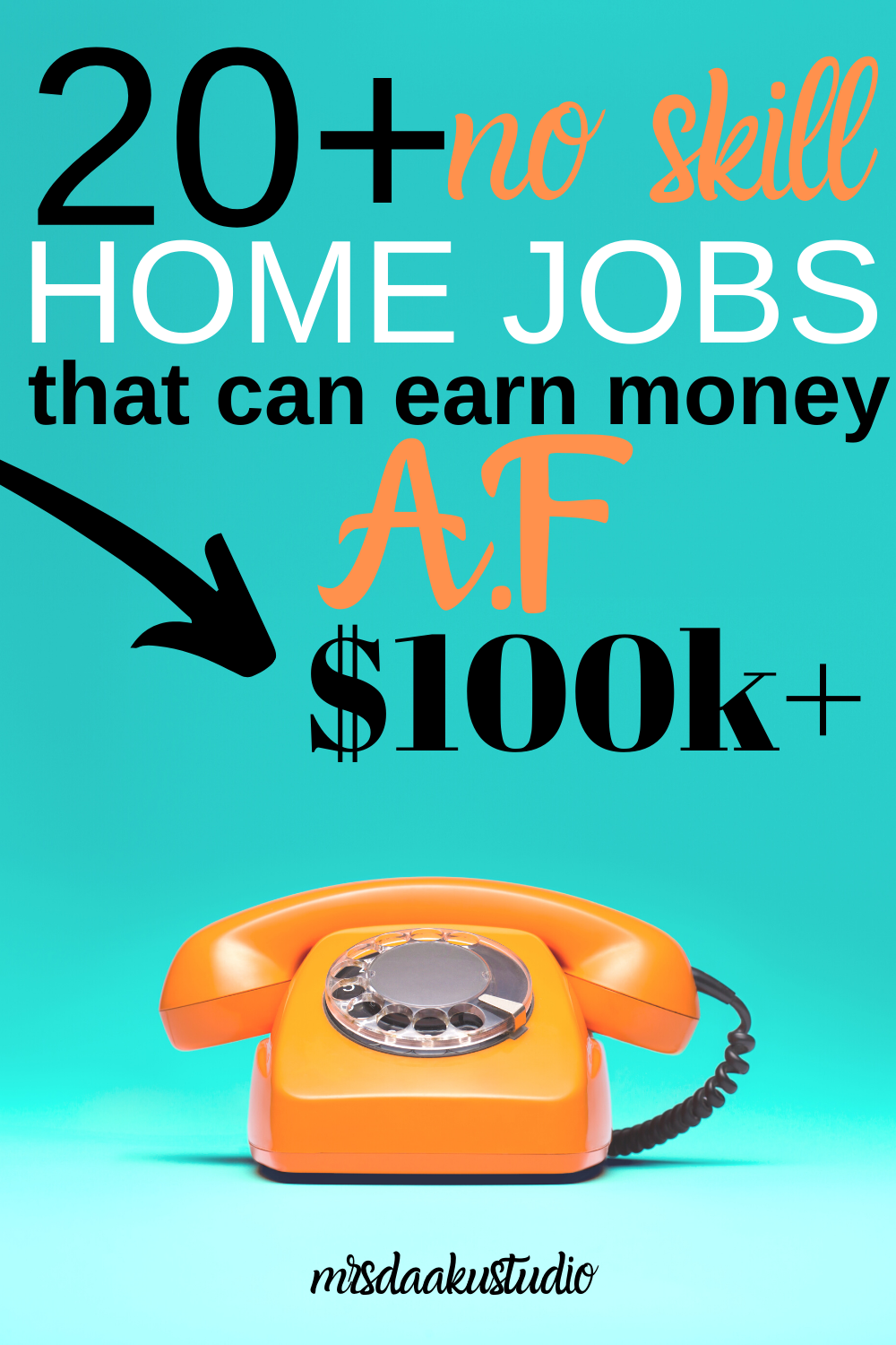 Non Phone Work From Home Jobs – 50+ MEGA LIST!