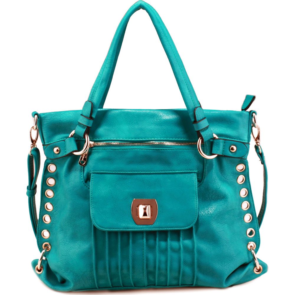 In the market for a new purse, loving teal this spring.....