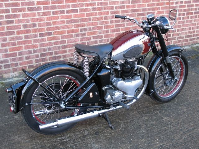 1947 Bsa A7 British Motorcycles Classic Motorcycles Motorcycle
