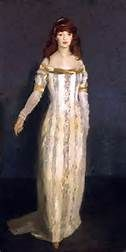 "Robert Henri - ""The Masquerade Dress""   dress paintings"
