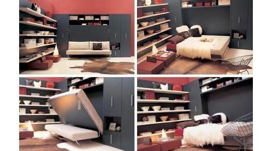 7 Murphy Beds from Domosfera | Murphy bed, Apartment therapy and ...