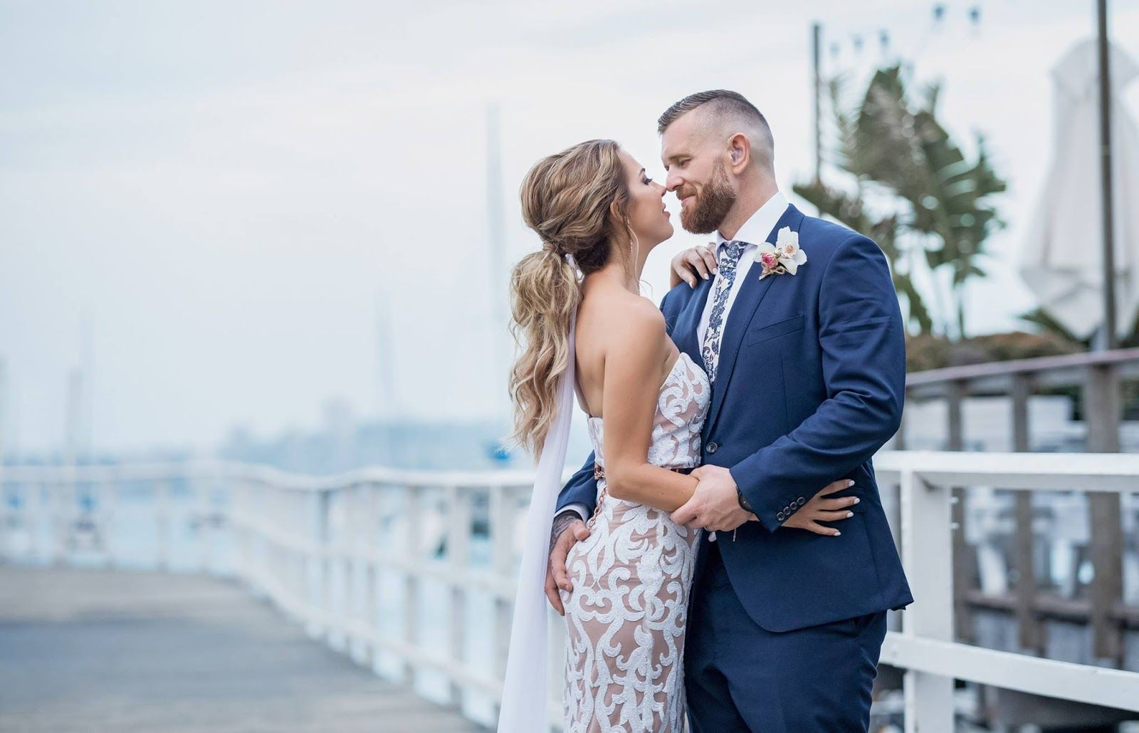 Elizabeth scott with images waterfront wedding