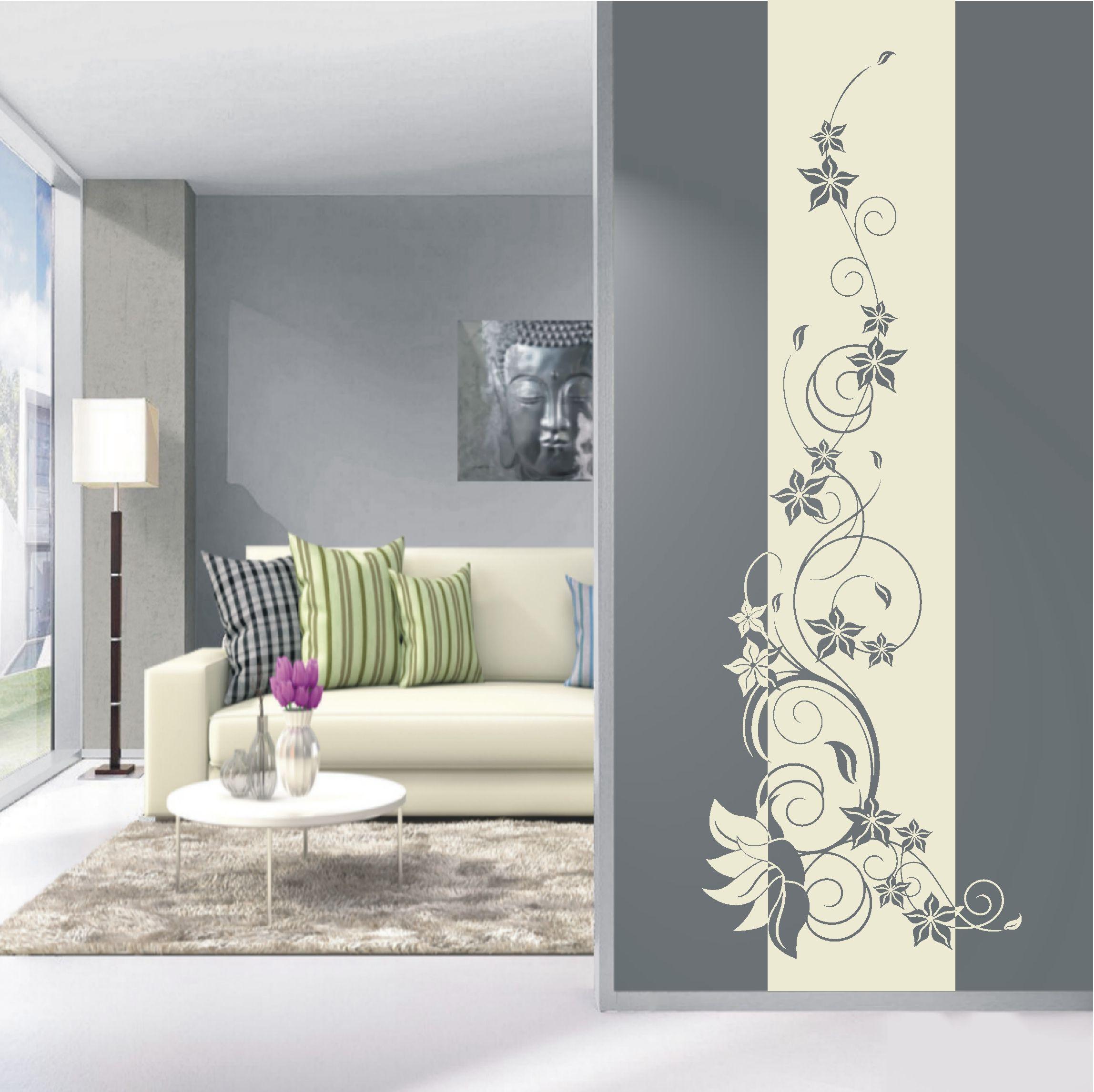 Wandtattoos Wohnzimmer Ideen