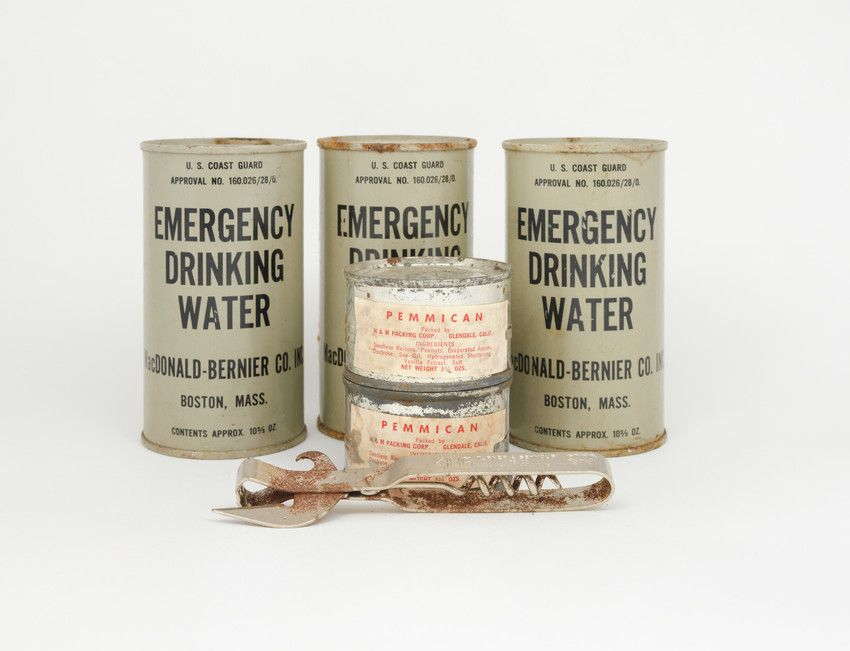 Can of Pemmican Food Storage Equipment H & M Packing