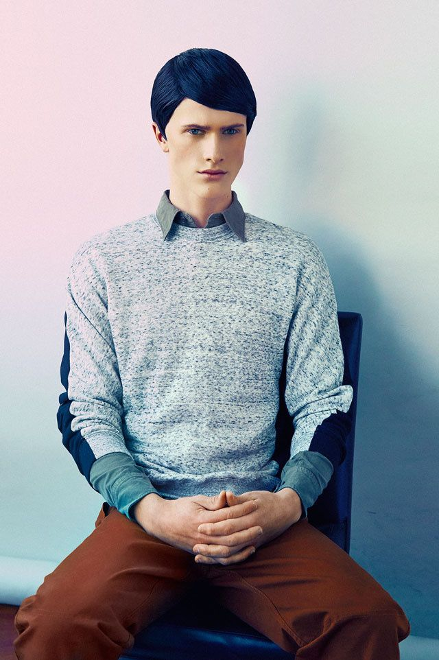 Let's Trim Our Hair In Accordance With The Socialist Lifestyle   Photo by Bernard Gueit #fashion #editorial #photography