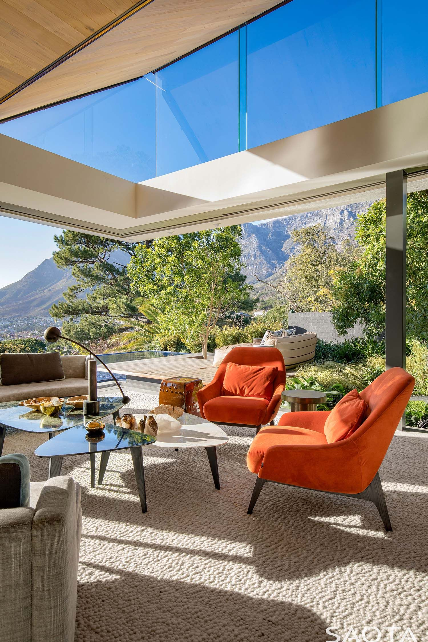 striking modern home in cape town showcases an inverted pyramid roof rh pinterest com