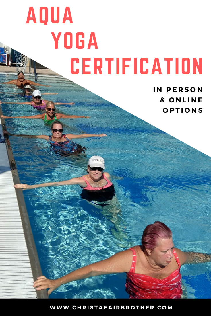 yoga aqua certification therapy training immersion