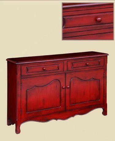 Contessa Distressed Red Cupboard Gail S Accents Contessa