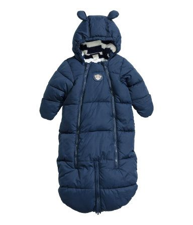low priced ad1cd ab7fe Padded sleeping bag  H&M US   Baby Clothes   H&m baby, Baby ...