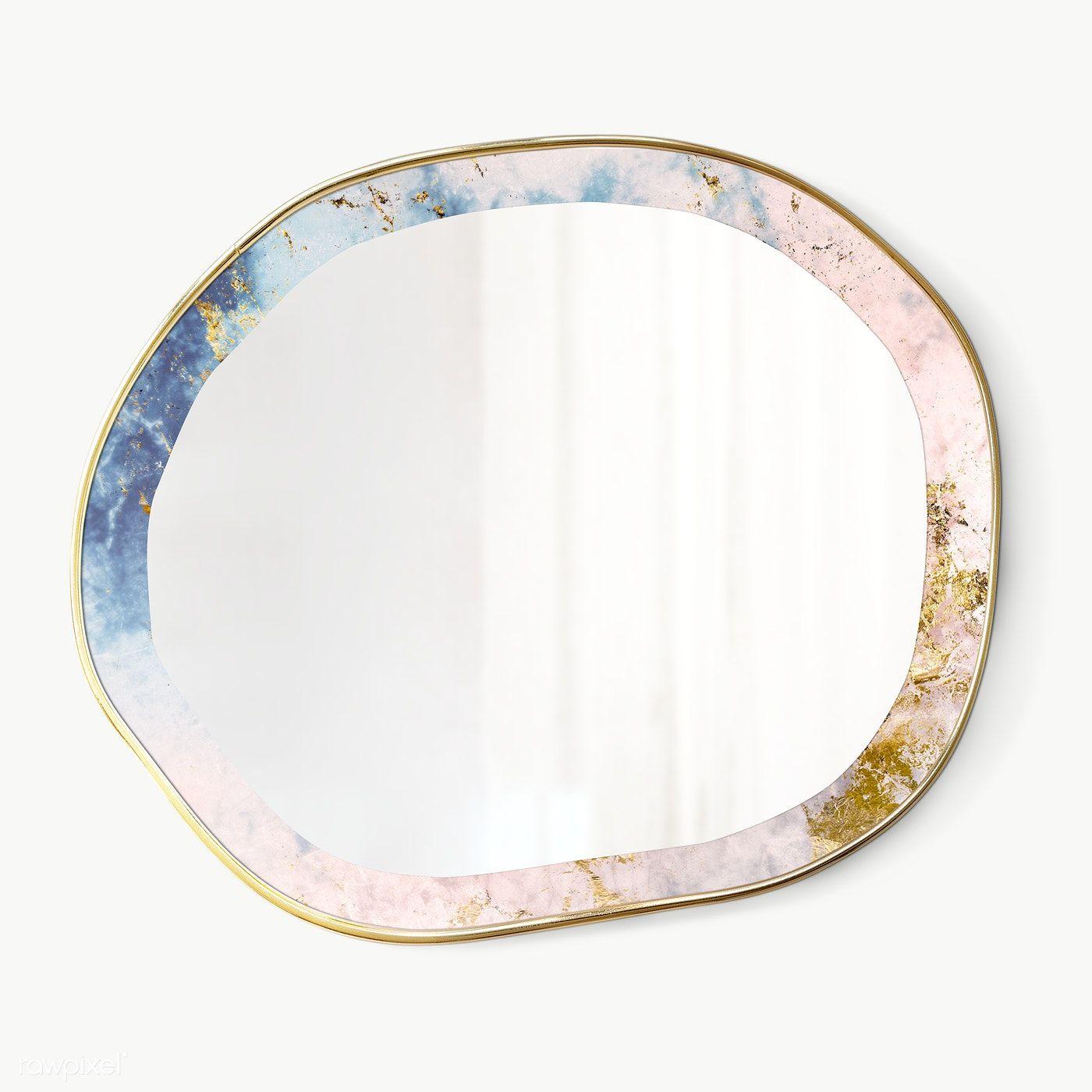 Download Premium Png Of Marbled Framed Mirror Transparent Png 2036839 In 2020 Marble Frame Mirror Gold Framed Mirror Marble Frame