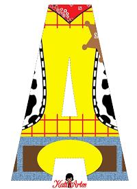 Alfabeto de Woody. Toy Story.