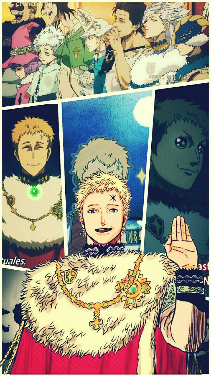 Schwarzklee King Wizard Julius Novachrono Wallpaper V2 Julius King Novachrono Schwarzklee V2 Wallpaper Wizard Read more information about the character julius novachrono from black clover? pinterest