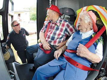 Fond memories (and a surprise) as Oshawa couple marks 66th anniversary.
