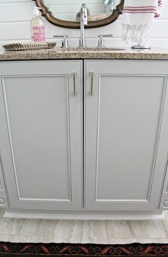 Upstairs Bath---Stonington Grey (BM): possible color for ...