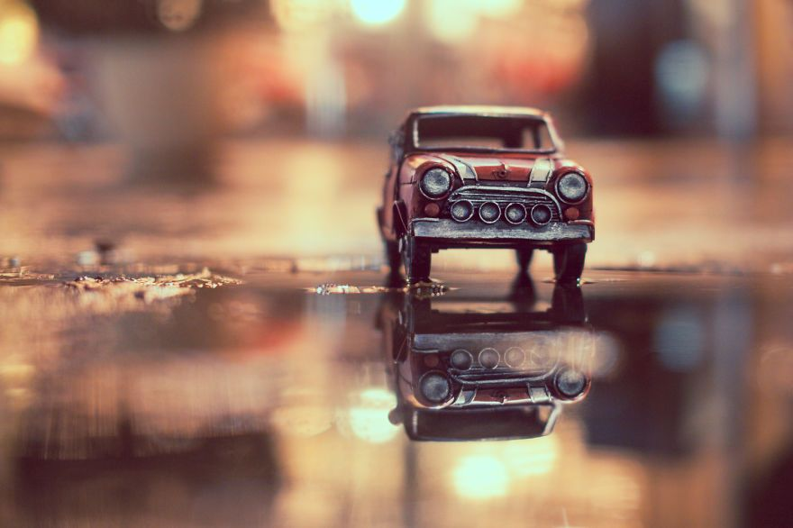 Lover Of The Light Photon Trapping Miniature Photography Car