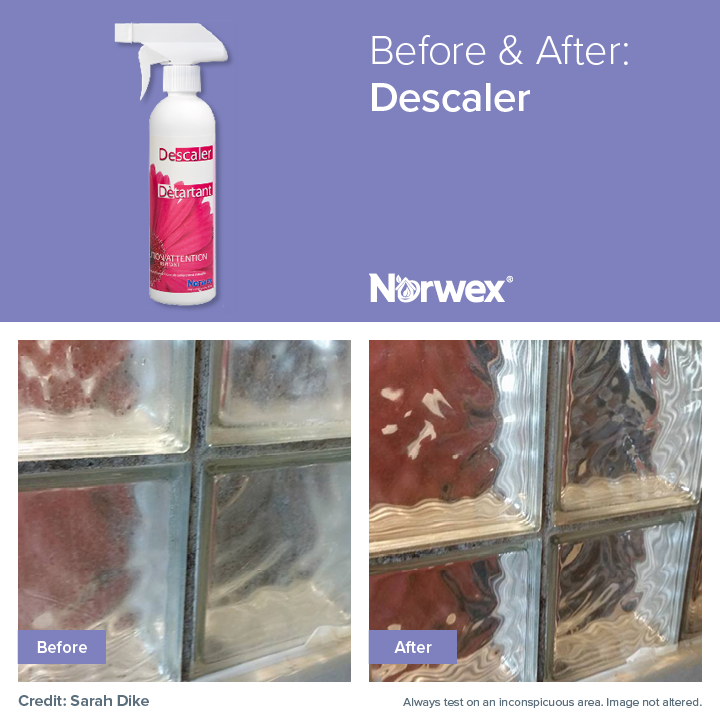 Fantastic Results Using The Norwex Descaler