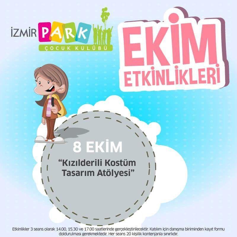 'Kızılderili Kostüm Tasarım Atölyesi' yarın İzmir Park Çocuk Kulübü'nde!