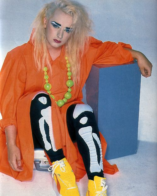 Pin By Jennifer George On Boys Rooms: Boy George Photographed For Blitz Magazine (UK), October