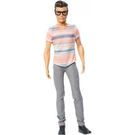 Barbie Print Shirt for SLIM or Original Ken Fashionistas Doll 16 Cactus Cooler