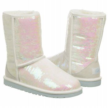 Ugg I Do Sparkle Sequin Boots 11
