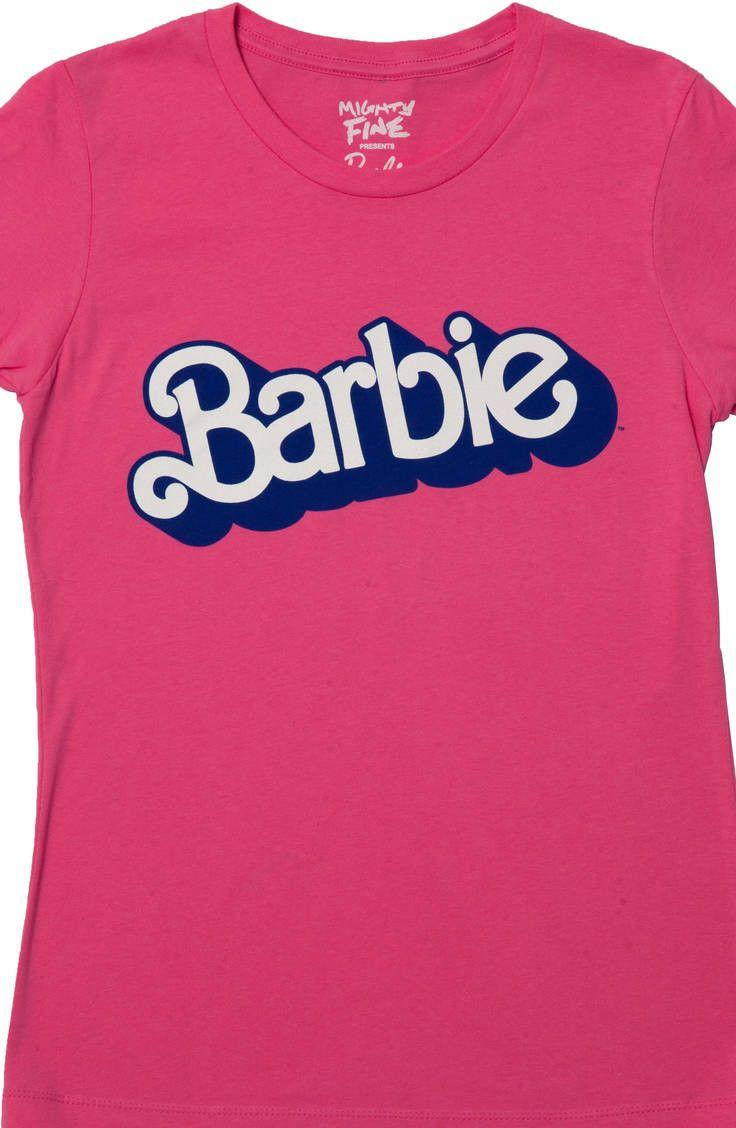 80s logo barbie t shirt logos 80 s and clothes. Black Bedroom Furniture Sets. Home Design Ideas