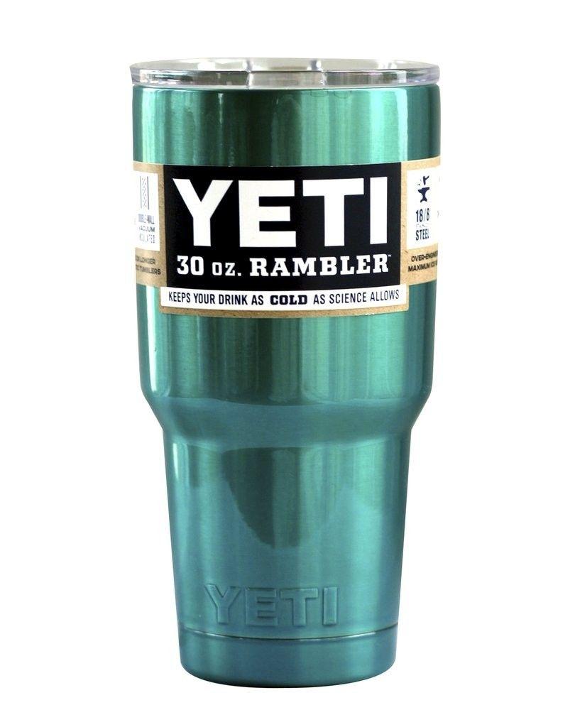 26d589d2426 YETI Bilayer Mermaid Teal Yeti 30 oz Rambler Tumbler YETI Cup 30 OZ Cups