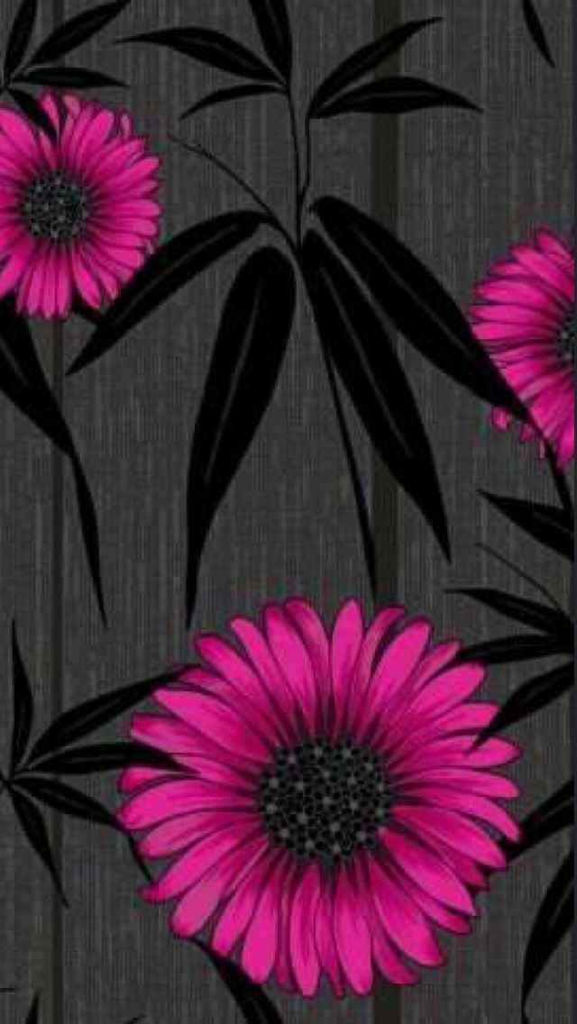 Black Pink Mystique Black Wallpaper Iphone Black Wallpaper Flower Wallpaper