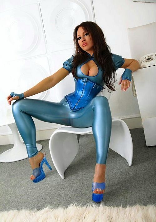 Latex-Girls-Area Horny Sexy Girls In Latex Dress Live On -2214