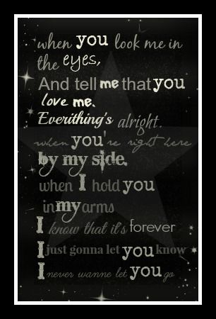 When You Look Me In The Eyes Quotes And Stuff Lyrics Jonas