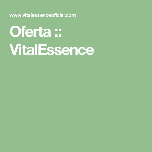 Oferta  :: VitalEssence