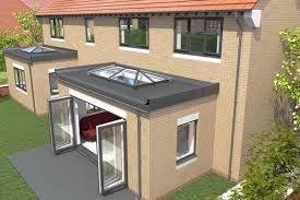 Image Result For Flat Roof With Skylights Casa Con Patio Tragaluz Casas De Ensueno
