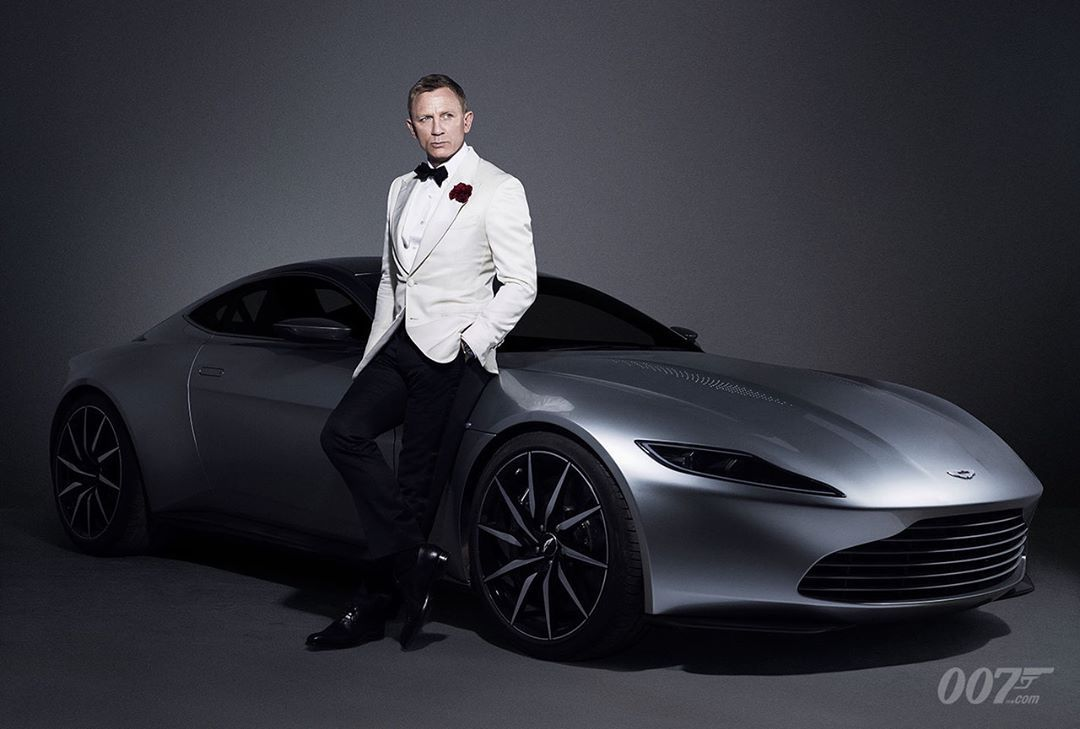 James Bond 007 James Bond And The Aston Martin Db10 From