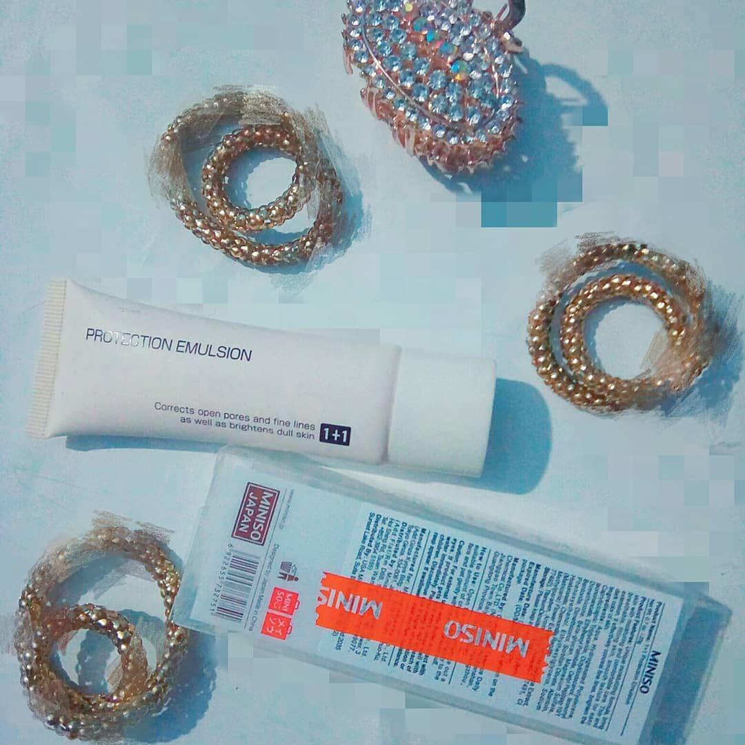 Miniso Review It Makeup Review Time U All Must Have Heard Of Miniso Recently I Headed About It Primer So I Decided To Try It Makeup Reviews Makeup Miniso
