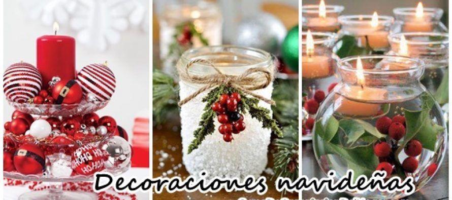 Decoraciones navideñas para la mesa Pinterest Decoración - decoraciones navideas para el hogar
